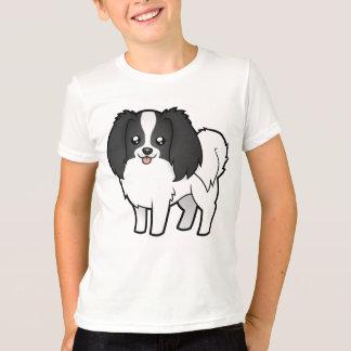 Cartoon Phalene / Japanese Chin T-Shirt