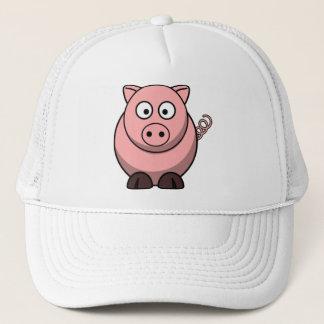 Cartoon Pig Cap