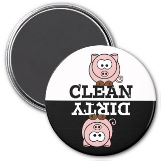 Cartoon Piggy Dishwasher Magnet
