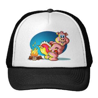 Cartoon Piglet Cap