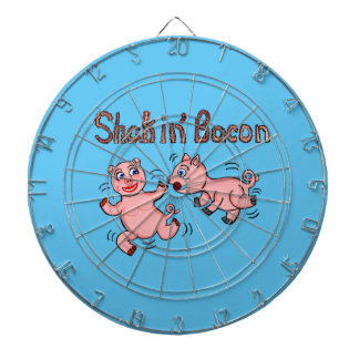 Cartoon Pigs Dartboard