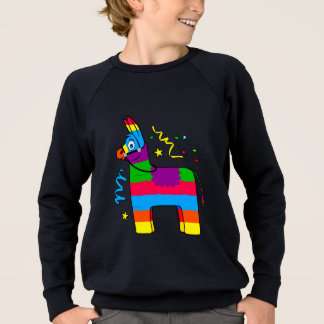 Cartoon Pinata Burro Sweatshirt