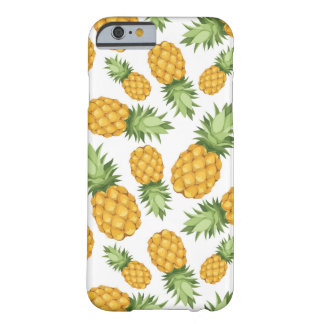 Cartoon Pineapple Pattern Barely There iPhone 6 Case