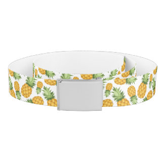 Cartoon Pineapple Pattern Belt