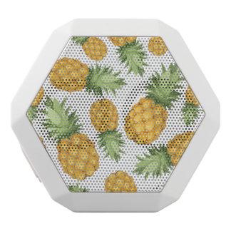 Cartoon Pineapple Pattern White Boombot Rex Bluetooth Speaker