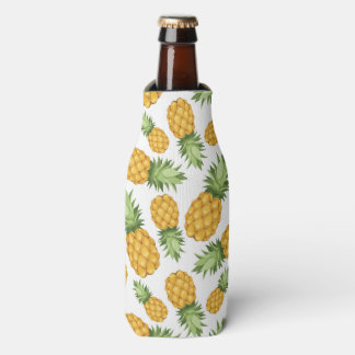 Cartoon Pineapple Pattern Bottle Cooler