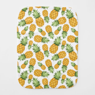 Cartoon Pineapple Pattern Burp Cloth