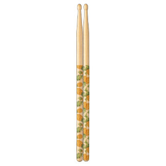 Cartoon Pineapple Pattern Drumsticks