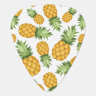 Cartoon Pineapple Pattern Guitar Pick