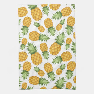 Cartoon Pineapple Pattern Hand Towel