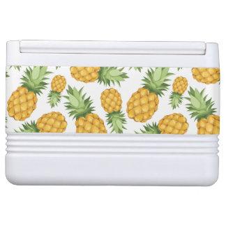 Cartoon Pineapple Pattern Igloo Cooler