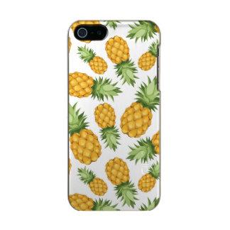 Cartoon Pineapple Pattern Incipio Feather® Shine iPhone 5 Case