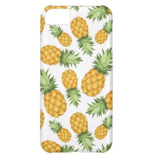 Cartoon Pineapple Pattern iPhone 5C Case