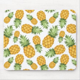 Cartoon Pineapple Pattern Mouse Pad