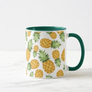Cartoon Pineapple Pattern Mug