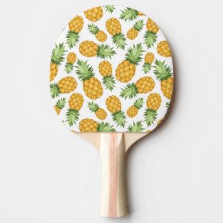 Cartoon Pineapple Pattern Ping Pong Paddle