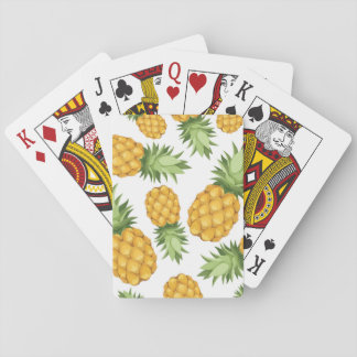 Cartoon Pineapple Pattern Playing Cards