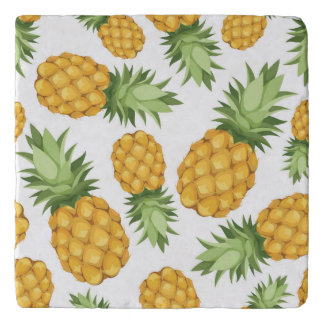 Cartoon Pineapple Pattern Trivet