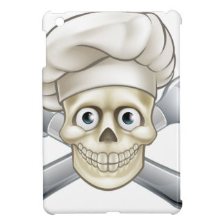 Cartoon Pirate Crossbones Chef iPad Mini Cases