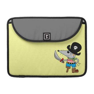 cartoon pirate MacBook pro sleeves