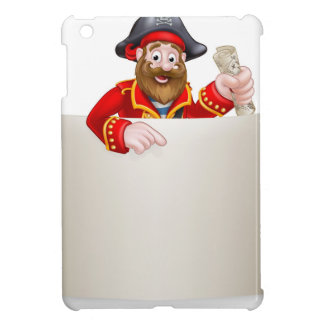Cartoon Pirate Scroll Sign Cover For The iPad Mini