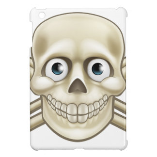 Cartoon Pirate Skull and Crossbones Thumbs Up Cover For The iPad Mini
