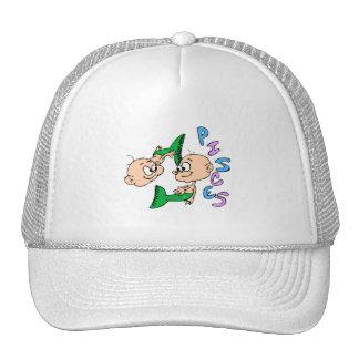 Cartoon Pisces Cap