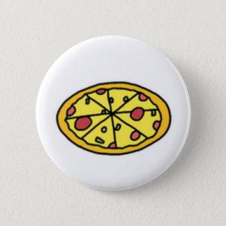 Cartoon Pizza Cutie Button