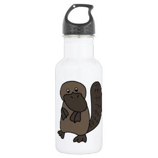 Cartoon Platypus 532 Ml Water Bottle