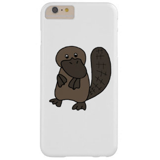 Cartoon Platypus Barely There iPhone 6 Plus Case
