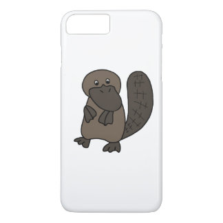 Cartoon Platypus iPhone 7 Plus Case