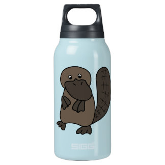 Cartoon Platypus 10 Oz Insulated SIGG Thermos Water Bottle