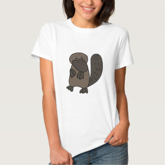 Cartoon Platypus T Shirts