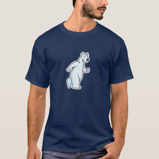 Cartoon Polar Bear T-Shirt
