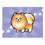 Cartoon Pomeranian