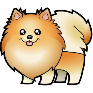 Cartoon Pomeranian Photo Cut Outs