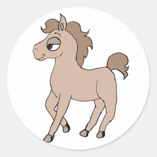 Cartoon Pony Sticker