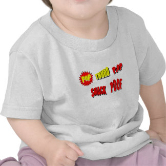 Cartoon POP THUDD PLOP SMACK POOF by Chillee Wilso T Shirt