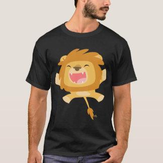 Cartoon Pouncing Lion T-shirt