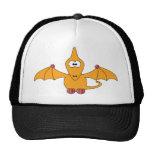 Cartoon Pterodactyl (yellow) Mesh Hat