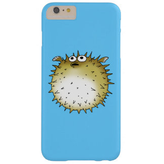 cartoon puffer fish barely there iPhone 6 plus case