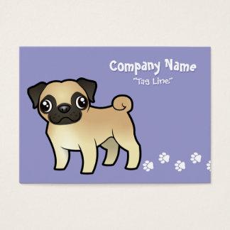 Cartoon Pug Business Card