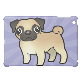 Cartoon Pug Cover For The iPad Mini