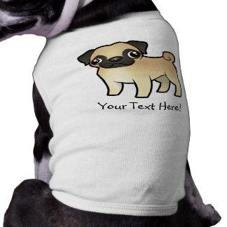 Cartoon Pug Shirt