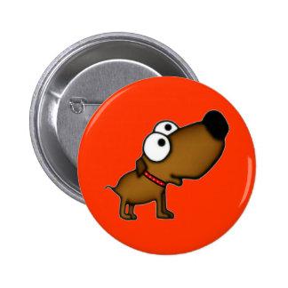 Cartoon Puppy 6 Cm Round Badge