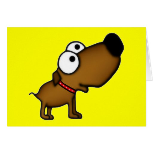 Cartoon Puppy Cards