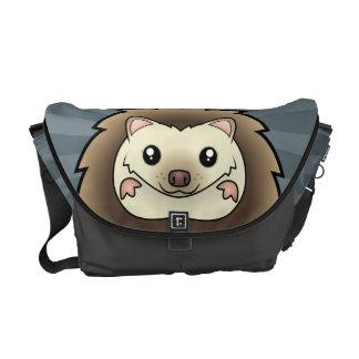 Cartoon Pygmy Hedgehog Commuter Bag