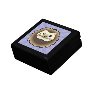 Cartoon Pygmy Hedgehog Gift Box