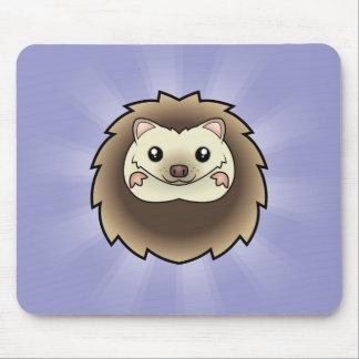 Cartoon Pygmy Hedgehog Mouse Pad