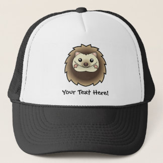 Cartoon Pygmy Hedgehog Trucker Hat
